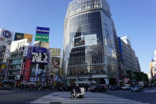 Shibuya's famous crossing