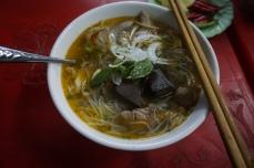 Bún bò- Spicy Beef Vermicelli Soup