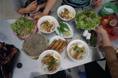 Mì Quảng- Yellow noodles with a ton of goodies!