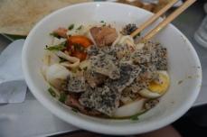 Close up of Mì Quảng